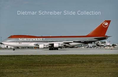 1994-02 N622US Boeing 747-251B (c/n 21704) Northwest Airlines