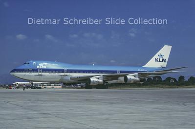 1988-06 PH-BUG Boeing 747-206B (c/n 20427) KLM Royal Dutch Airlines
