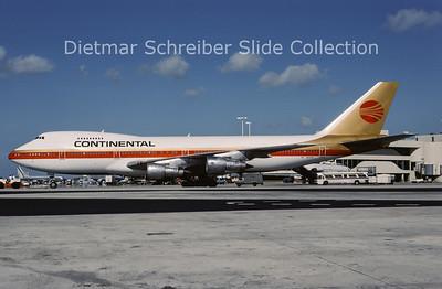 1987-06 N610PE Boeing 747-238B (c/n 20535) Continental Airlines