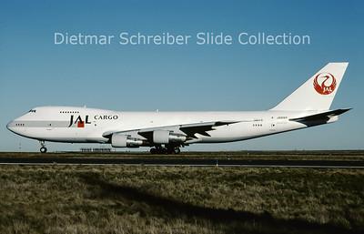 2001-02 JA8169 Boeing 747-246F (c/n 23389) Japan Airlines