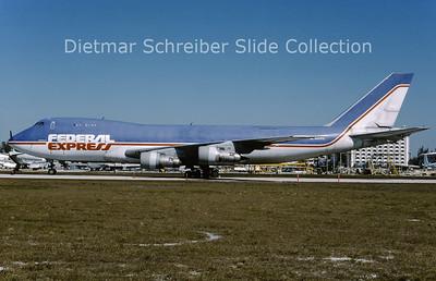 1995-02 N631FE Boeing 747-249F (SCD) (c/n 21827) Federal Express