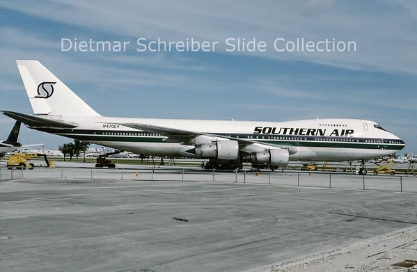 1994-07 N470EV Boeing 747-273C (c/n 20653) Southern Air Transport