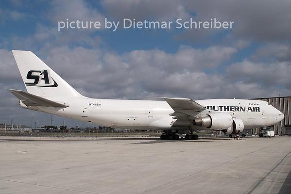 2009-04-03 N748SA Boeing 747-300F Southern Air