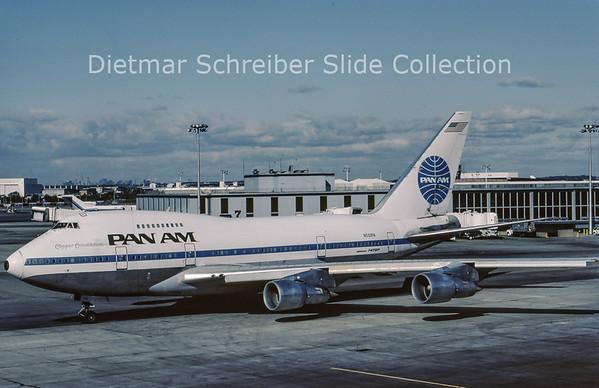 1983-11 N532PA Boeing 747SP Pan American