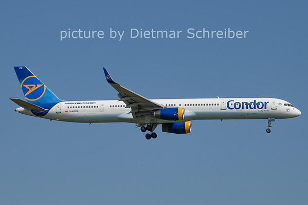 2021-07-22 D-ABOE Boeing 757-300 Condor