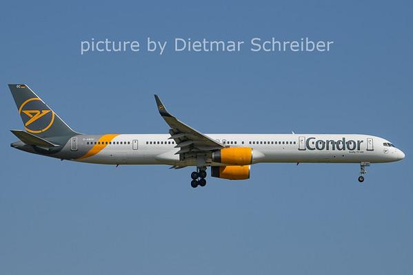 2021-07-22 D-ABOC Boeing 757-300 Condor