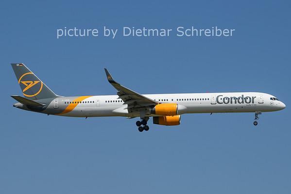 2021-07-21 D-ABOK Boeing 757-300 Condor