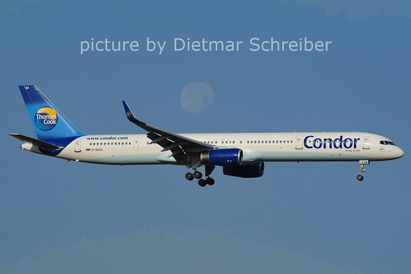 2012-07-06 D-ABOA Boeing 757-300 Condor