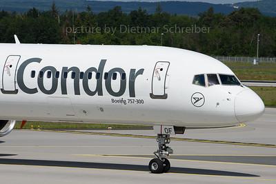 2019-05-31 D-ABOF Boeing 757-300 Condor