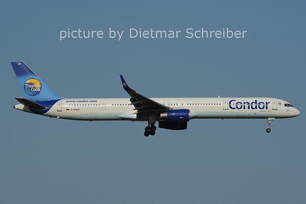 2012-07-06 D-ABOF Boeing 757-300 Condor