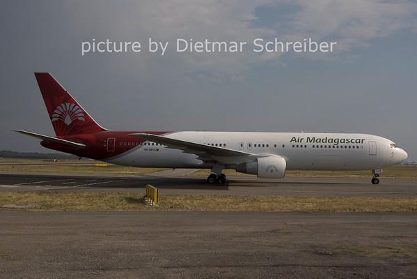 2006-07-29 5R-MFG BOieng 767-300 Air Madagascar