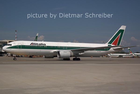 2006-07-29 EI-CRD Boeing 767-300 Alitalia