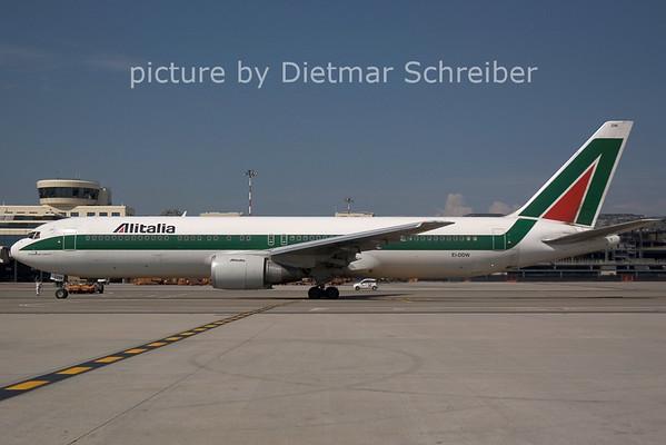 2006-07-29 EI-DDW Boeing 767-300 Alitalia