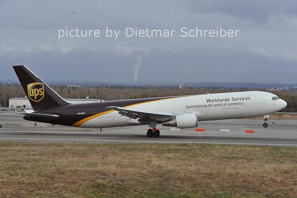 2012-05-12 N325UP Boeing 767-300 UPS