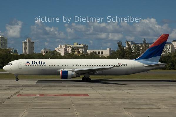 2006-02-25 N144DA Boeing 767-300 Delta Airlines