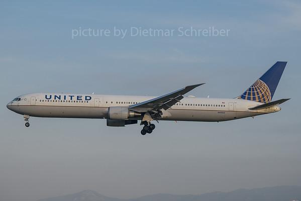 2020-02-22 N69063 Boeing 767-400 United Airlines