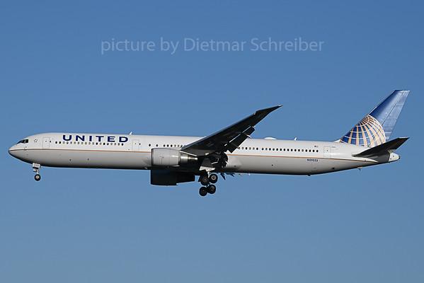 2020-01-18 N59053 Boeing 767-400 United Airlines