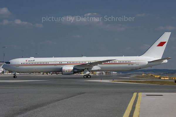 2016-09-15 A9C-HMH Boeing 767-400 Bahrain Government