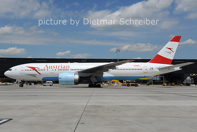 2012-06-07 OE-LPC Boeing 777-200 Austrian Airlines