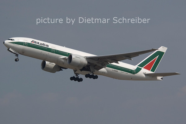 2006-07-29 I-DISD Boeing 777-200 Alitalia
