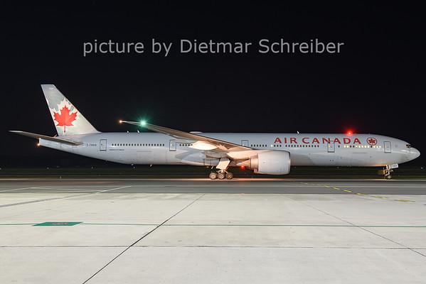 2021-04-28 C-FNNW Boeing 777-300 Air Canada