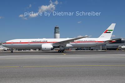 2021-07-29 A6-SIL Boeing 777-300 UAE