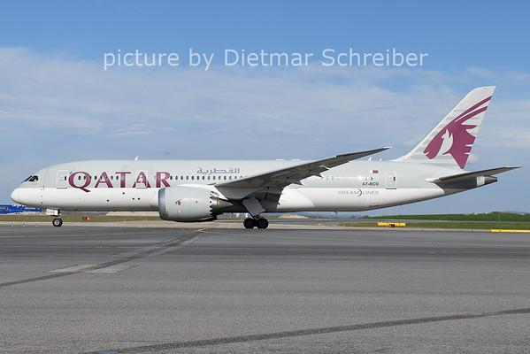 2021-04-11 A7-BCO Boeing 787-8 Qatar Airways