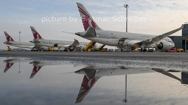 2021-01-31 A7-BCF Boeing 787-8 Qatar Airways