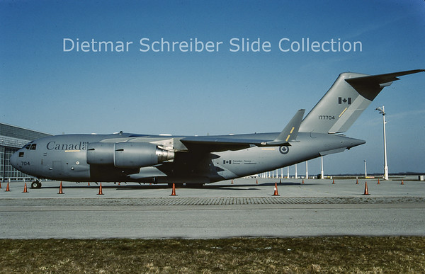 2009-04 177704 Boeing C17 (c/n 50188/F.187/CA4) Canadian Air Force