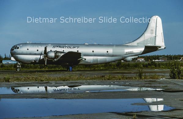 1988-07 N4580Q Boeing KC97G (c/n 17005) Stratolift