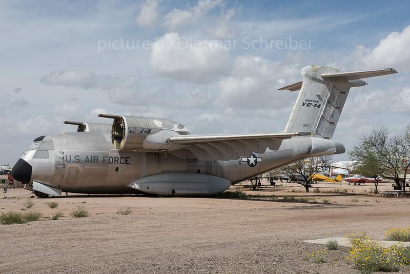 2016-03-07 72-1873 Boeing YC14 USAF