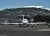 Bombardier Global Express departs Wellington, 29 November 2016