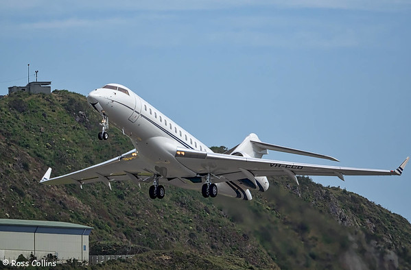 Bombardier Global Express at Wellington 2016