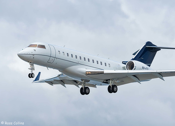 Bombardier Global 6000 at WLG 2018