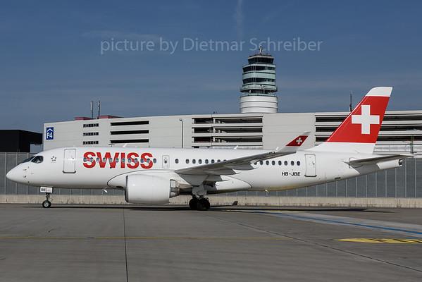 2017-03-29 HB-JBE Bombardier CS100 Swiss