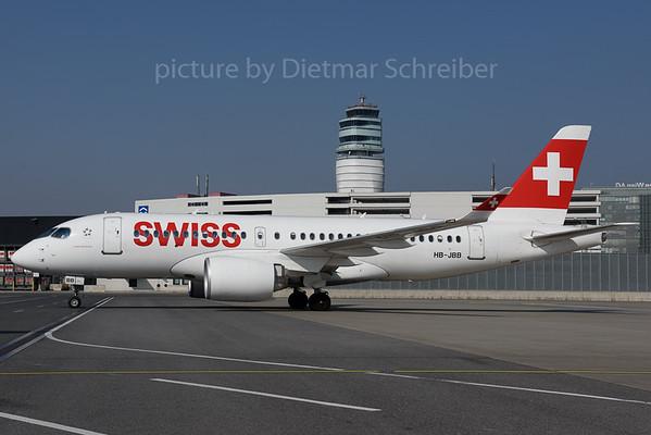 2017-03-13 HB-JBB Bombardier CS100 Swiss