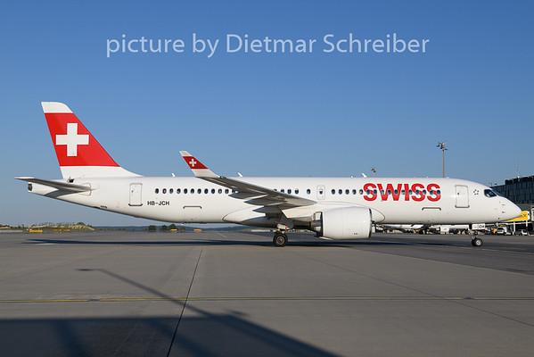2020-07-30 HB-JCH Airbus A220-300 Swiss