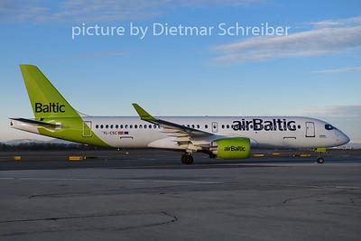 2020-02-06 YL-CSC Airbus A220-300 Air Baltic