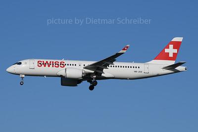 2020-01-19 HB-JCD Airbus A220-300 Swiss