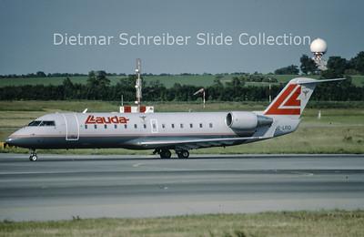 1999-06 OE-LRD Bombardier Regionaljet 100LR (c/n 7052) Lauda Air