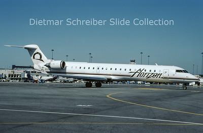 2009-10 N619QX Bombardier Regionaljet 702 (c/n 10246) Horizon Airlines