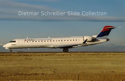 2011-01 N603SK Bombardier Regionaljet 702 (c/n 10248) Skywest Airlines