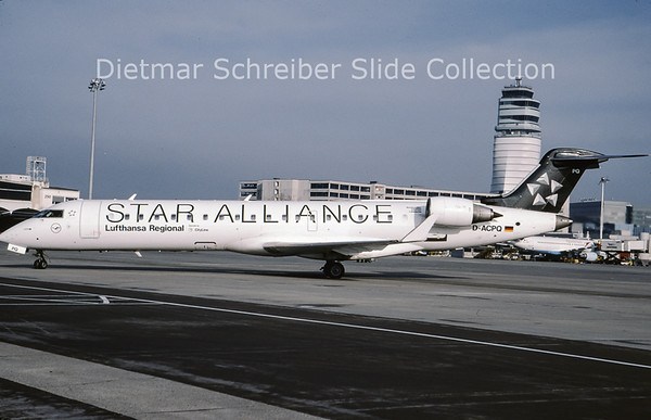 2009-03 D-ACPQ Bombardier Regionaljet 701 (c/n 10091) Lufthansa Cityline