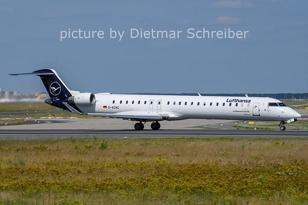 2021-07-21 D-ACNC Regionaljet 900 Lufthansa