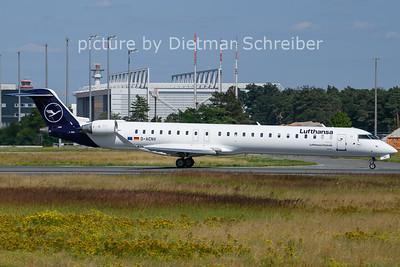 2021-07-21 D-ACNV Regionaljet 900 Lufthansa