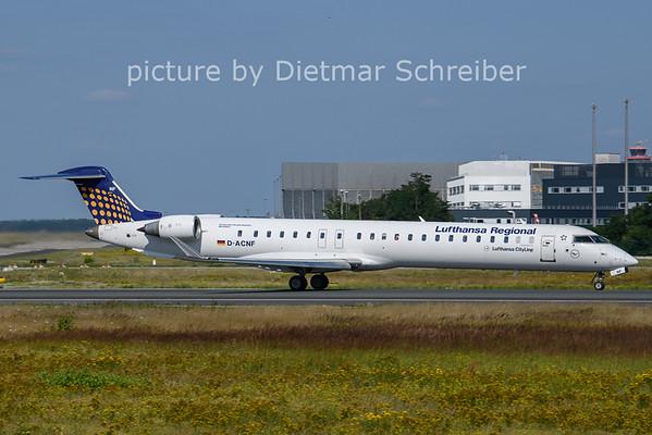 2021-07-21 D-ACNF Regionaljet 900 Lufthansa Regional