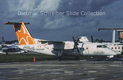 2002-09-01 N803WP Bombardier Dash 8-102 (c/n 141) Caribbean Star