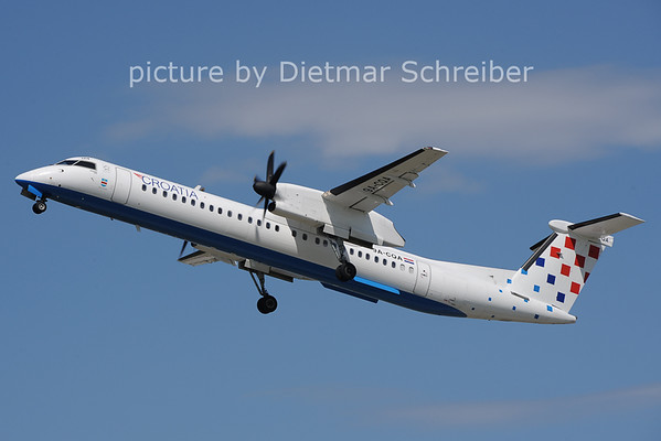2012-06-08 9A-CQA Dash8-400 Croatia Airlines