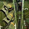 B17 bomb bay and catwalk