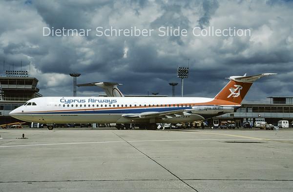 5B-DAH BAC 1-11-537GF (c/n 257) Cyprus Airways